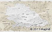Classic Style Panoramic Map of Hunedoara