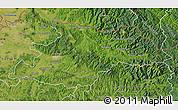 Satellite Map of Maramures