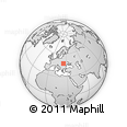 Outline Map of Maramures