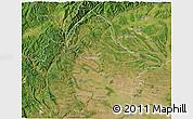 Satellite 3D Map of Mehedinti