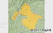 Savanna Style Map of Mehedinti