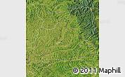 Satellite Map of Mures