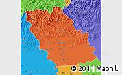 Political Map of Prahova