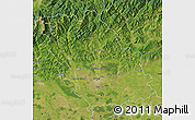 Satellite Map of Prahova