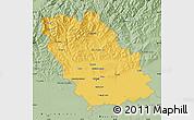 Savanna Style Map of Prahova