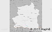 Gray Map of Teleorman