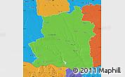 Political Map of Teleorman