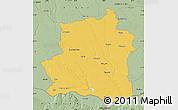 Savanna Style Map of Teleorman