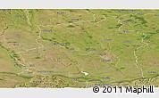Satellite Panoramic Map of Teleorman