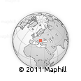 Outline Map of Timis