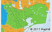 Political Map of Tulcea