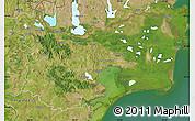 Satellite Map of Tulcea