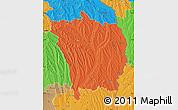 Political Map of Vaslui