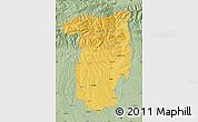 Savanna Style Map of Vîlcea