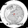Outline Map of Vrancea