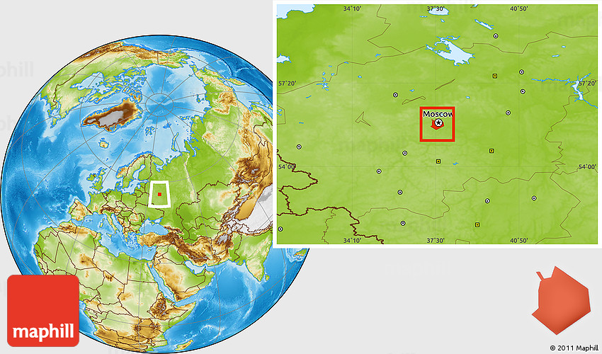 Physical location map of moscow 2d gumiabroncs Images