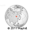 Outline Map of Duldurginskiy