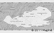 Gray Map of Agin-Buryat Autonomous Okrug