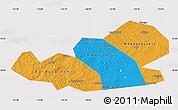 Political Map of Agin-Buryat Autonomous Okrug, cropped outside