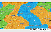 Political Map of Agin-Buryat Autonomous Okrug