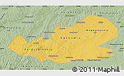 Savanna Style Map of Agin-Buryat Autonomous Okrug