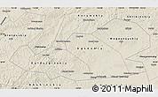 Shaded Relief Map of Agin-Buryat Autonomous Okrug