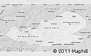 Silver Style Map of Agin-Buryat Autonomous Okrug