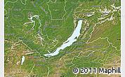 Satellite Map of Buryatia