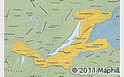 Savanna Style Map of Buryatia