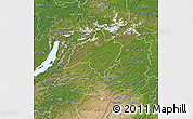 Satellite Map of Chita Oblast