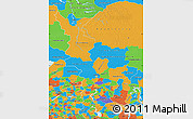 Political Map of Krasnoyarsk Krai