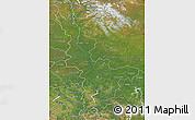 Satellite Map of Krasnoyarsk Krai