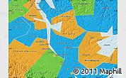 Political Map of Ust-Orda Buryat Autonomous Okrug