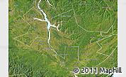 Satellite Map of Ust-Orda Buryat Autonomous Okrug