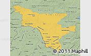 Savanna Style Map of Amur Oblast