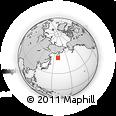 Outline Map of Yelizovskiy