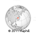 Outline Map of Vladivostok