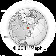 Outline Map of Megino-Kangalasskiy