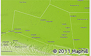 Physical 3D Map of Naurskiy