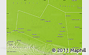 Physical Map of Naurskiy