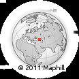 Outline Map of Naurskiy