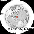 Outline Map of Shalinskiy