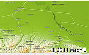 Physical 3D Map of Khasavyurtovskiy