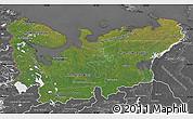 Satellite Map of North, desaturated