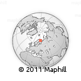 Outline Map of Monchegorsk