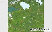 Satellite 3D Map of Northwest