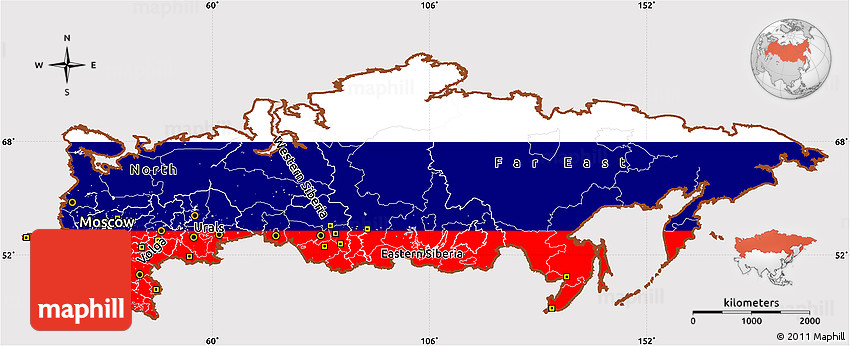Flags Maps Russian 66