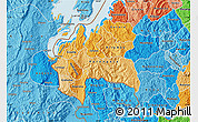 Political Shades Map of Cyangugu