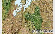 Satellite Map of Cyangugu
