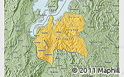 Savanna Style Map of Cyangugu